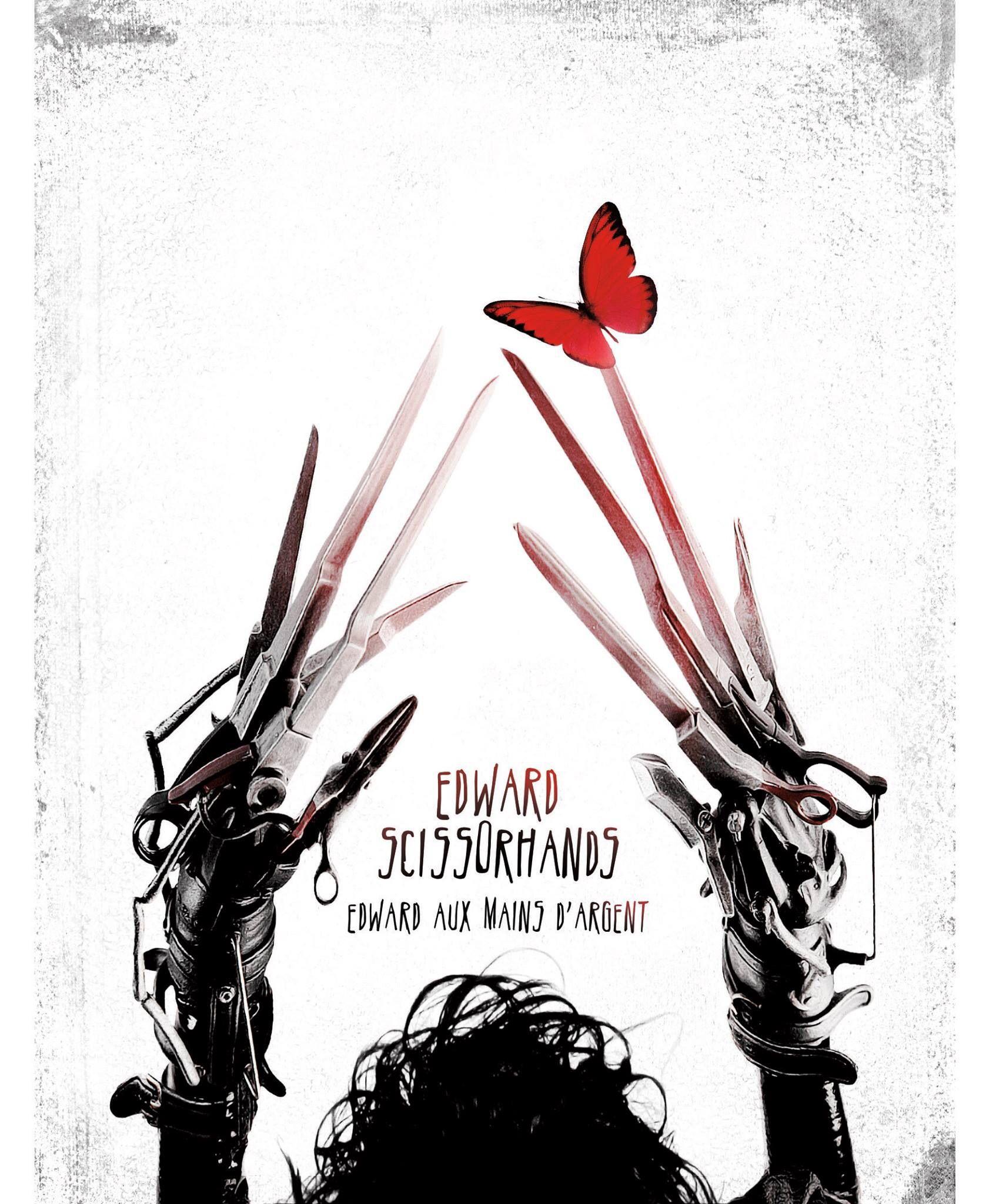 Edward Scissorhands Poster Edward Scissorhands Movie Edward