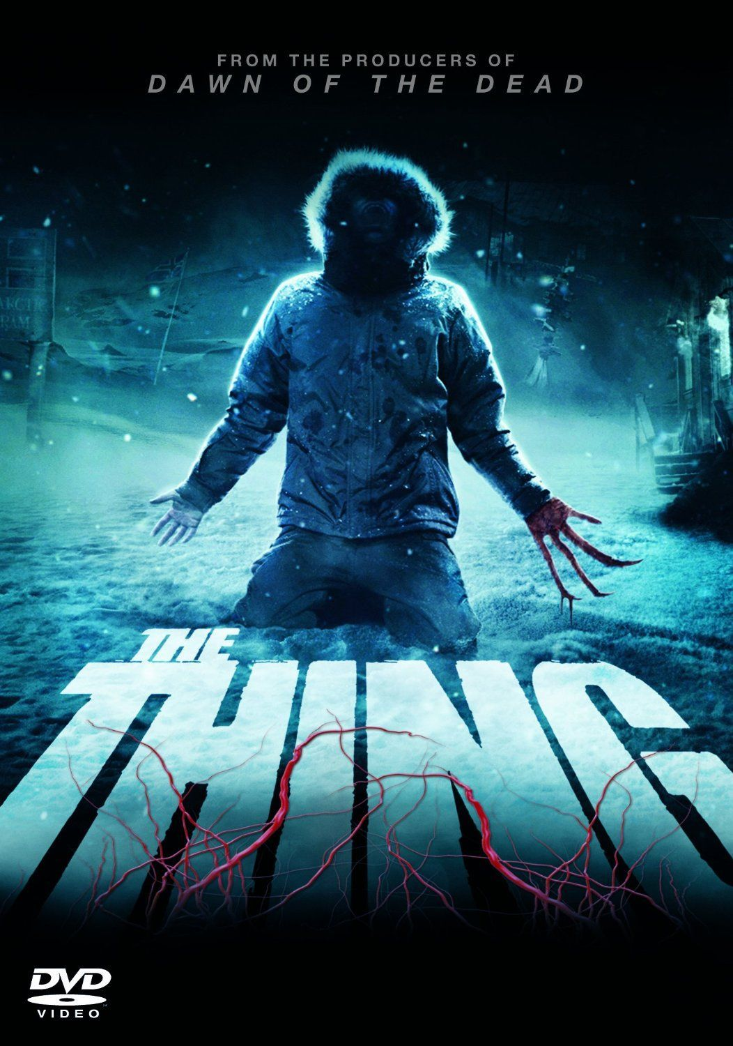 The Thing 2011 DVD Cover Horror movie posters, Horror