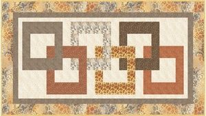 Fabrics N Quilts Free Pattern-In Chains-Shalimar