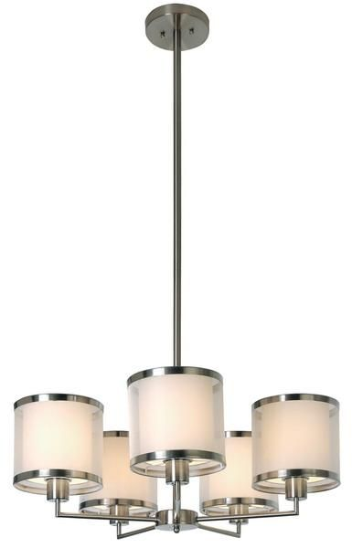 Lux Chandelier By Trend Lighting With Base Sockets Free Shipping