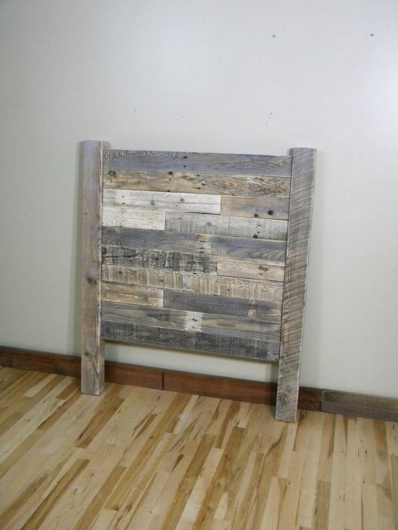 Wood Headboard Reclaimed Wood Twin Headboard Queen Headboard Rustic Furniture Beach Decor Primitive Decor Reclaimed Wood Beds Rustic Headboard Wood Beds