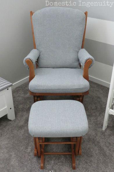 Diy Glider Chair Cover Glider Chair Rocking Chair Nursery