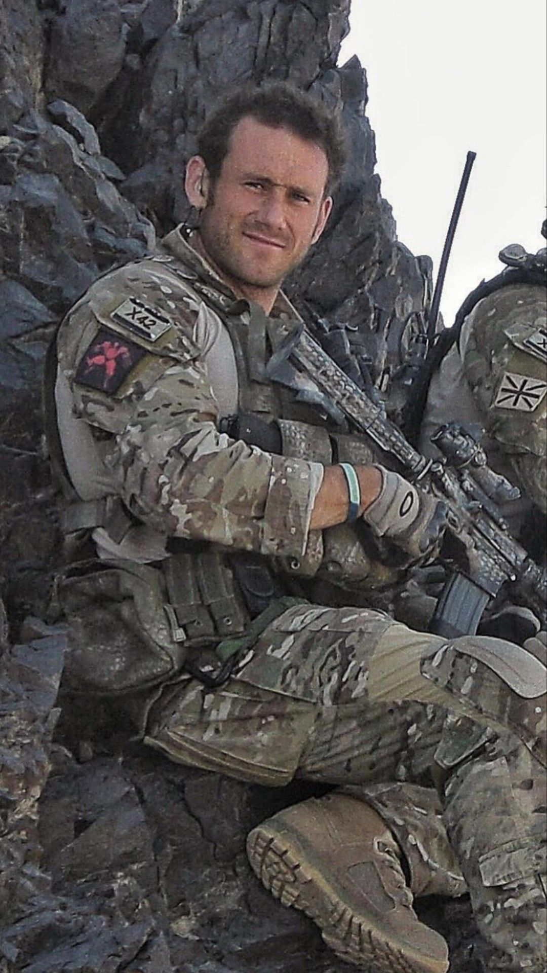 Picture from google images) Jason Fox of the British SBS in