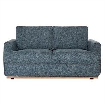 (Storage) Thunder Fabric Nixon Sofa 2 Seat | freedom