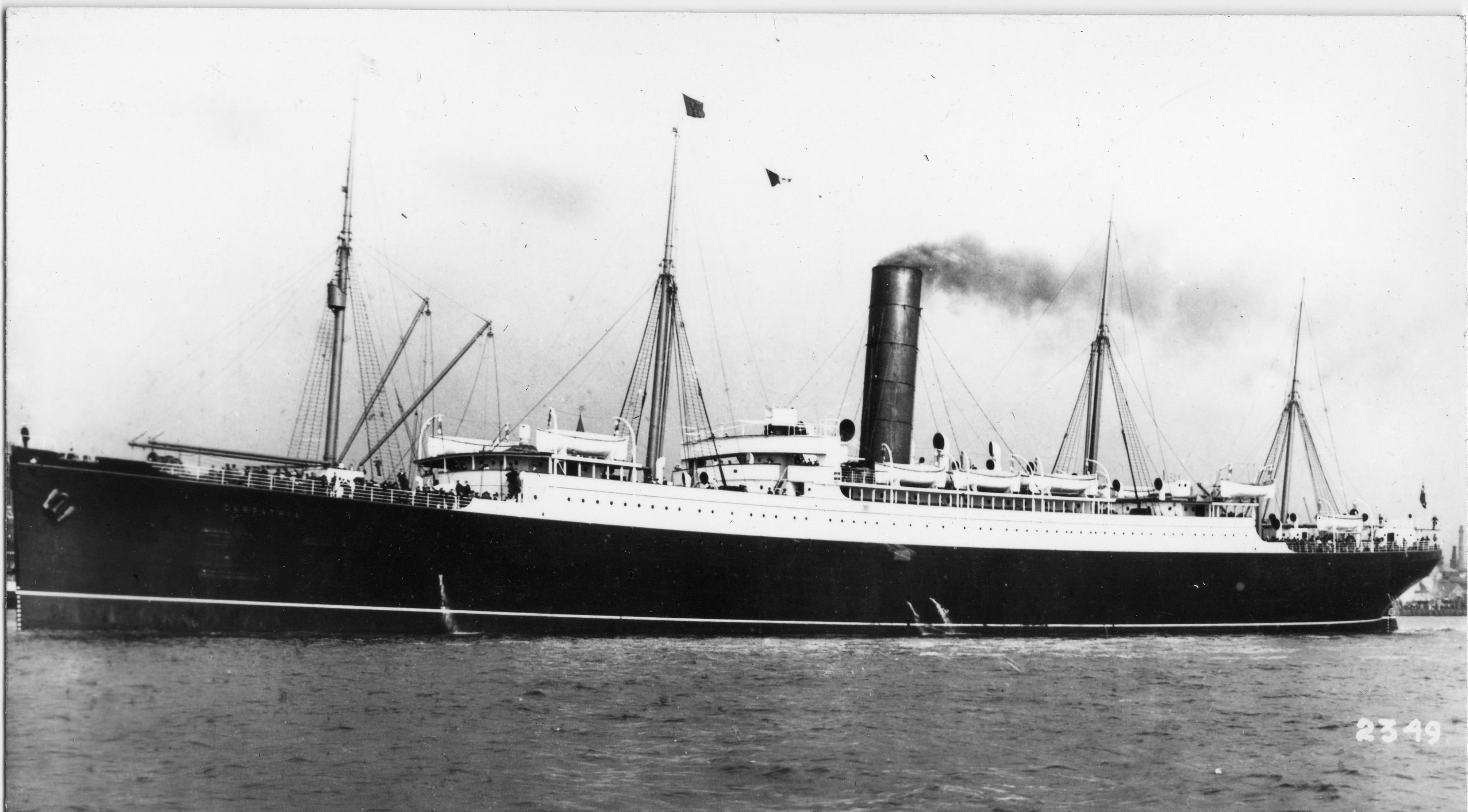 Carpathia The Ship That Rescued The Titanic Survivors Titanic Pinterest