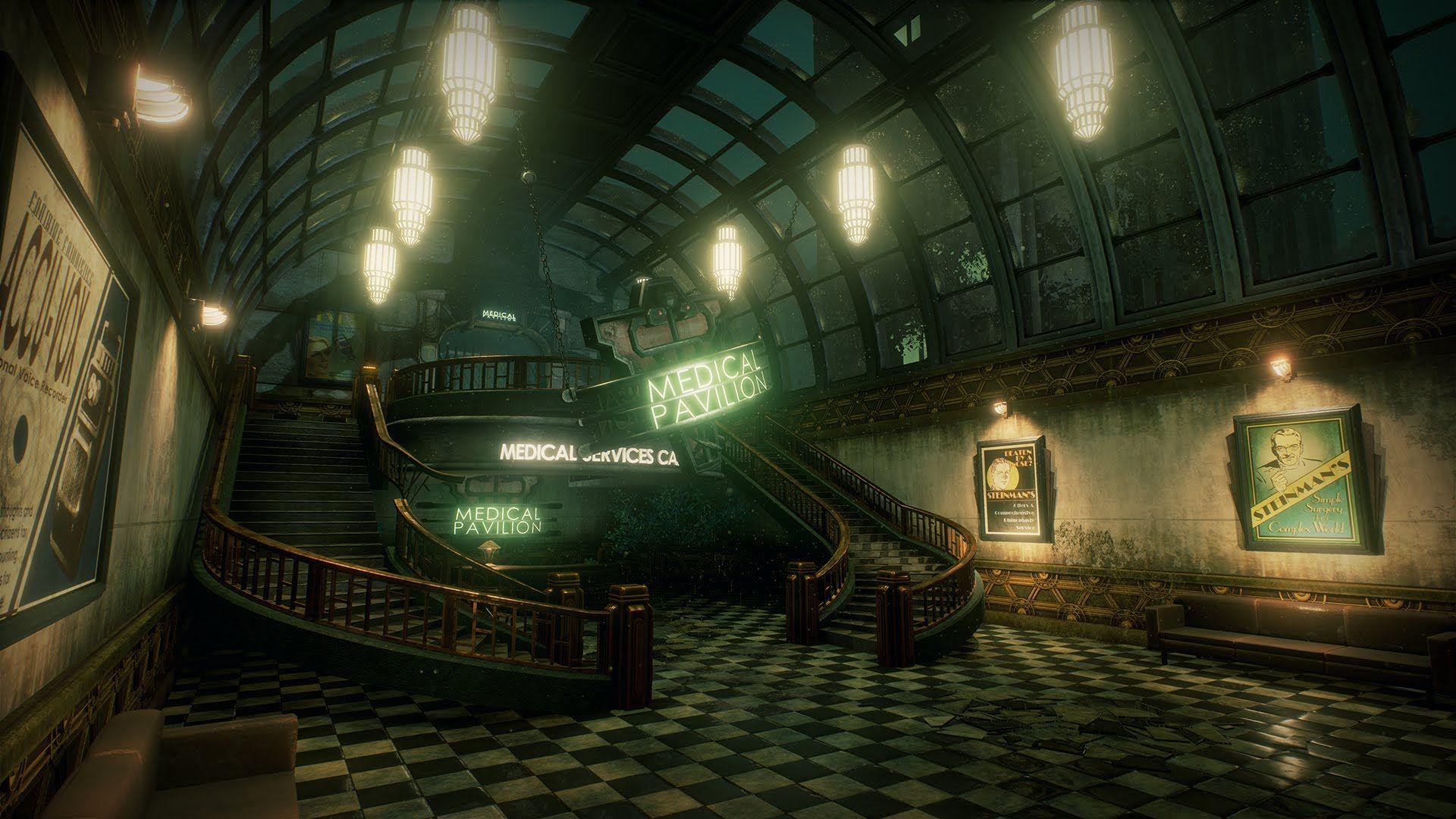 Bioshock: Medical Pavilion (Unreal Engine 4) | Kedvenc játékok
