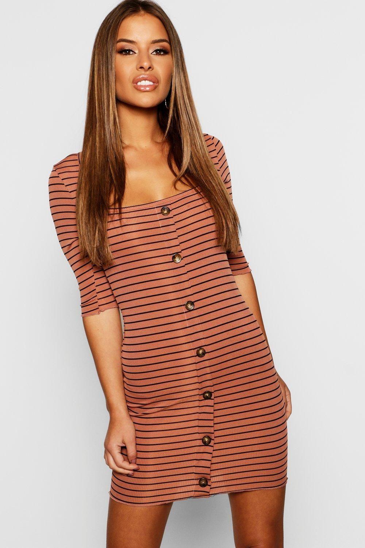 Petite Striped Bodycon Dress Boohoo Striped Bodycon Dress Bodycon Dress Women Dress Online [ 1500 x 1000 Pixel ]