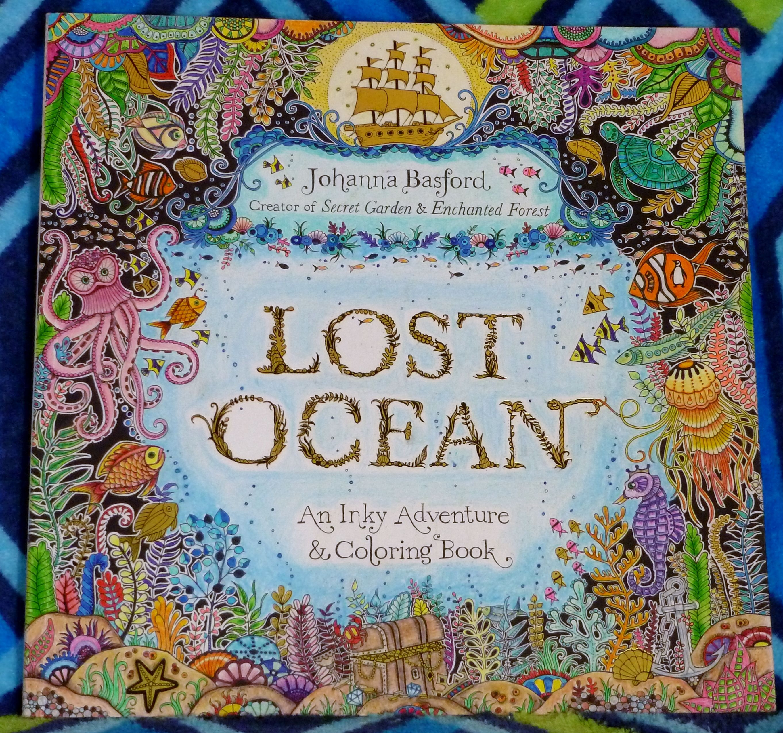 Lost Ocean by Johanna Basford – Colored by Kelli | Lost Ocean ...