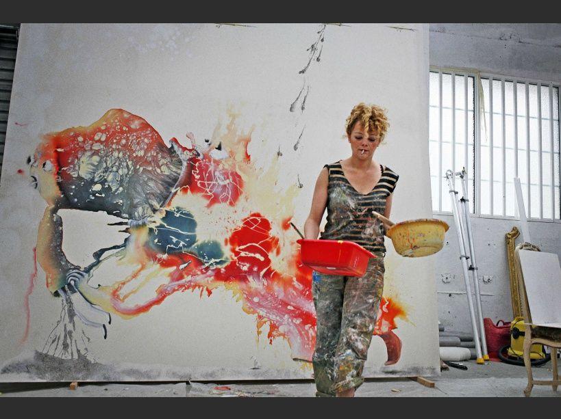 PHOTOS. L'artiste dans le secret de son atelier au Petit Palais (NE PAS RÉUTILISER)