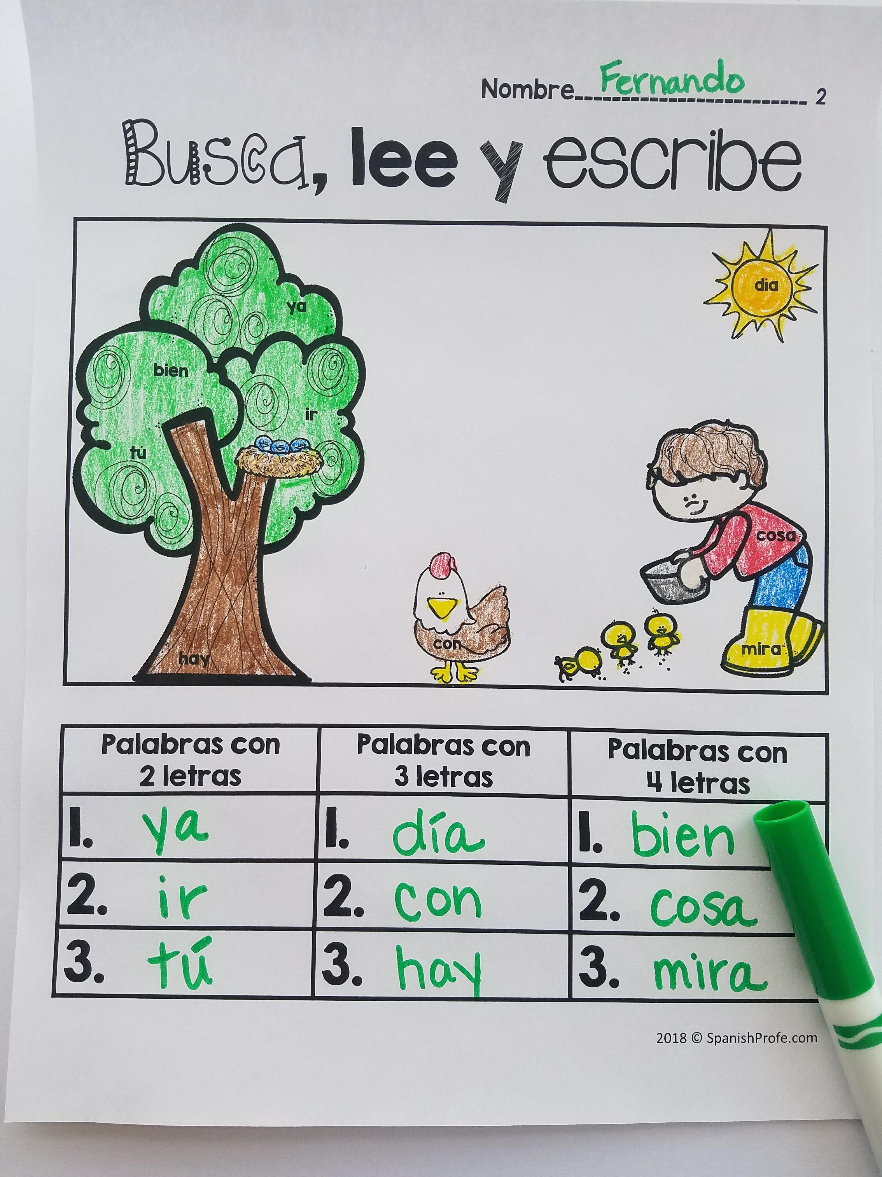 Pin By Spanish Profe On Bilingual Reading Lectura