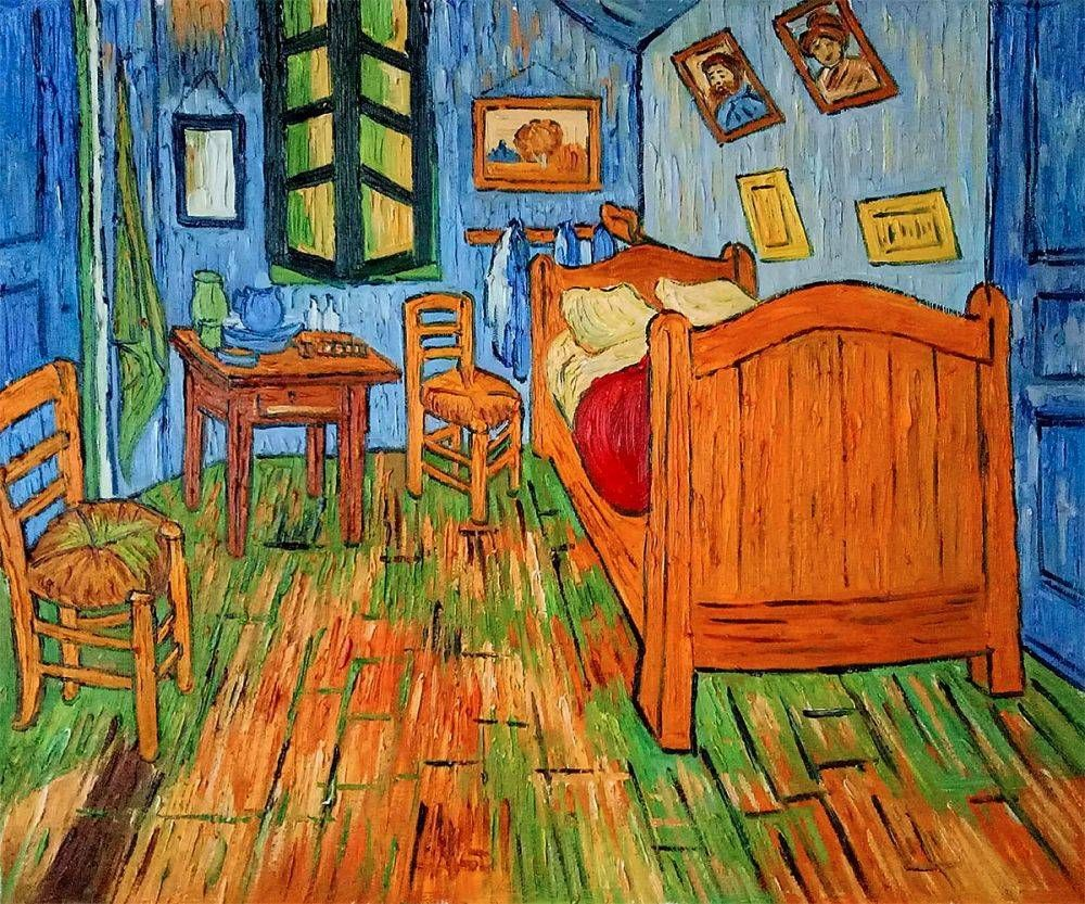 Bedroom At Arles Vincent Van Gogh Reproduction At Overstockart