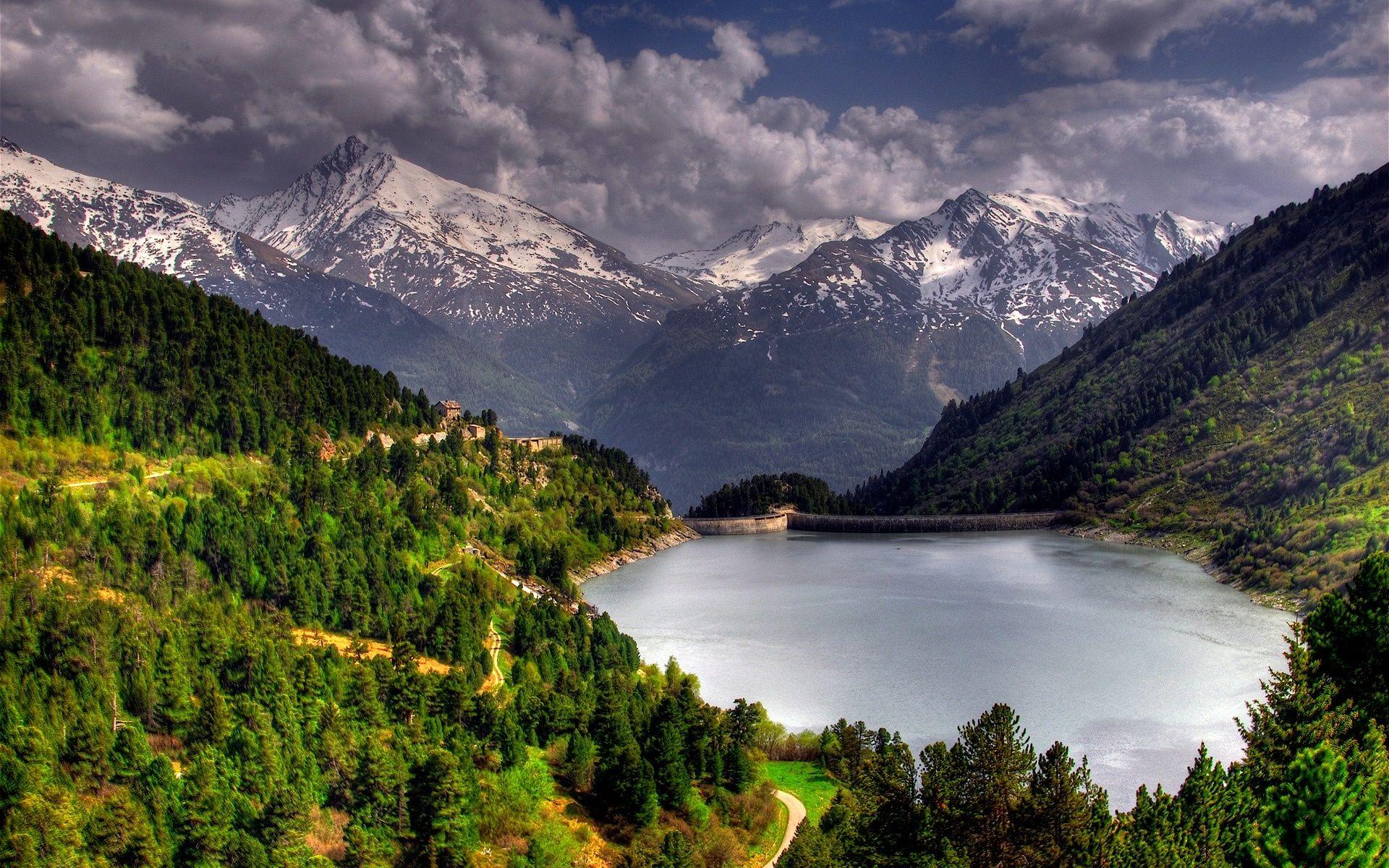 Amir Kabir Dam In Iran Lake Landscape Nature Wallpaper Nature Pictures