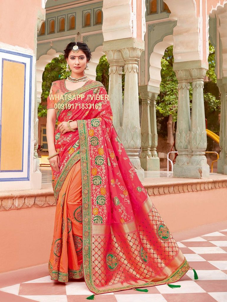 9cf86489ad13c7 This Designer Saree is crafted with Resham Embroidery   Lace Border Work.  https   flic.kr s aHskH42t4x