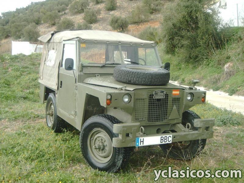 land rover santana 88 ligero militar | santana ligero | pinterest