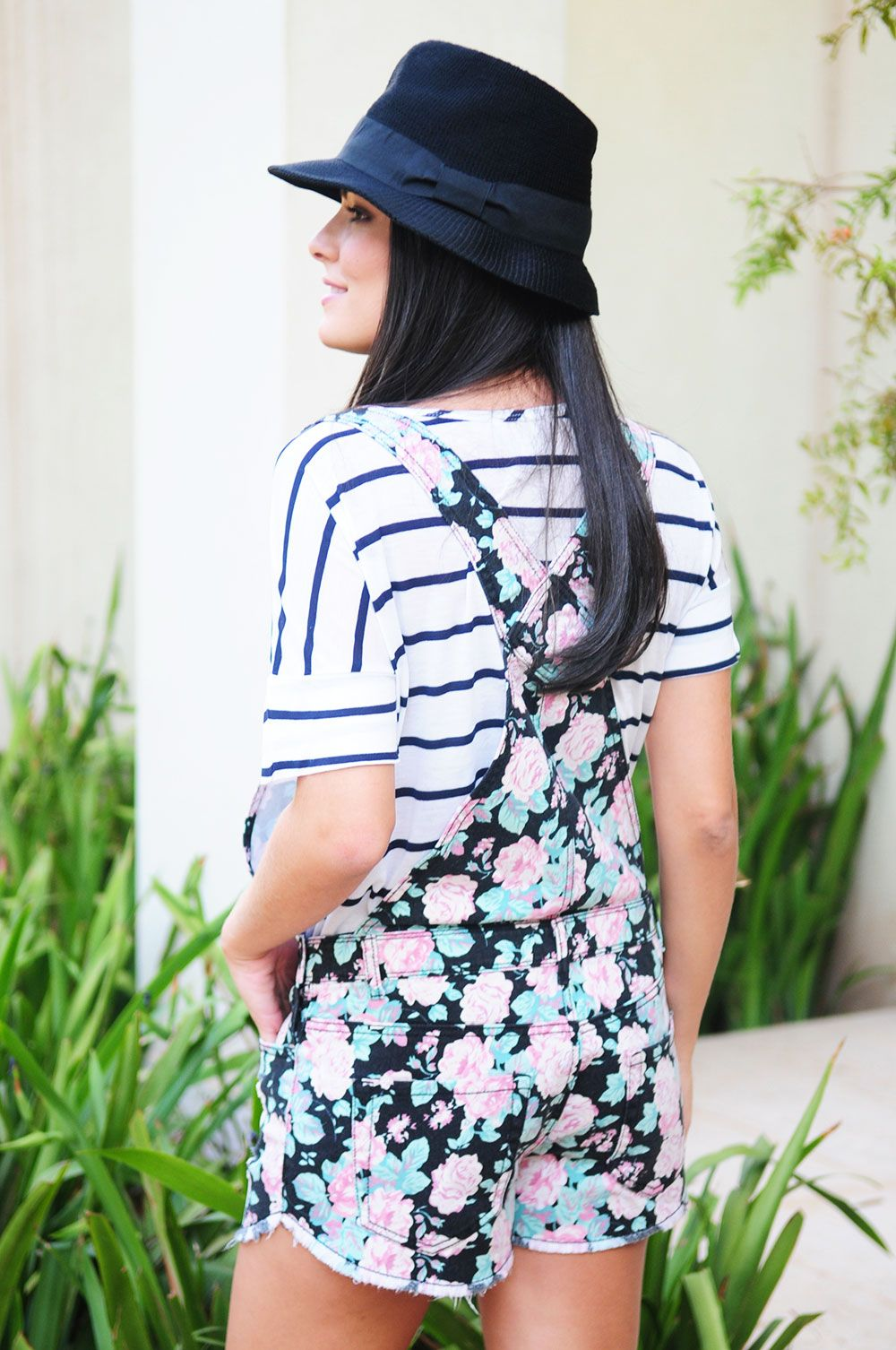 Marina Casemiro » Look da noite: colete de pêlo + blusa de