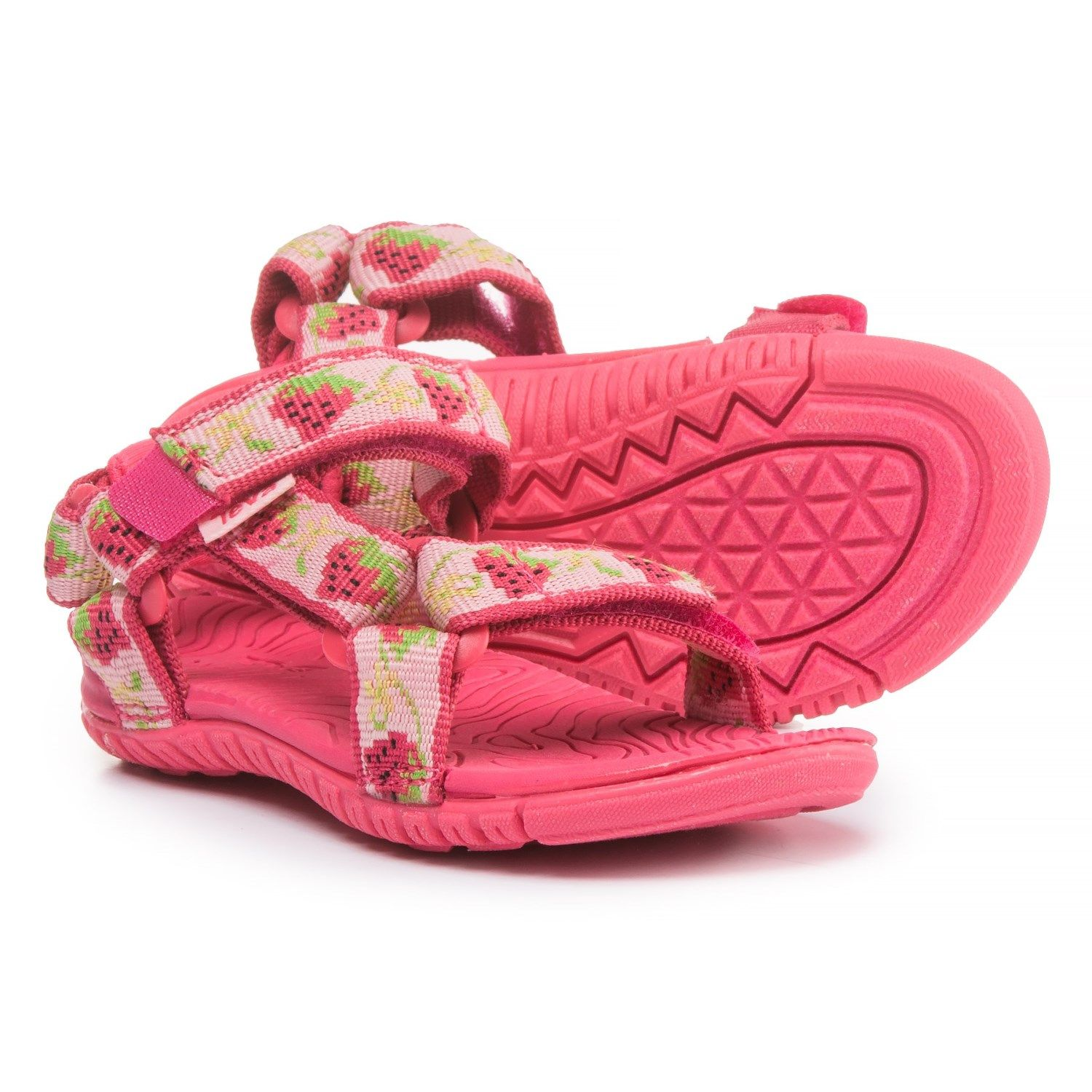 2a0db8d4e Teva Hurricane 3 Sport Sandals (For Infant and Toddler Girls) in Strawberry  Pink at Sierra Trading Post. Celebrating 30 Years Of Exploring.