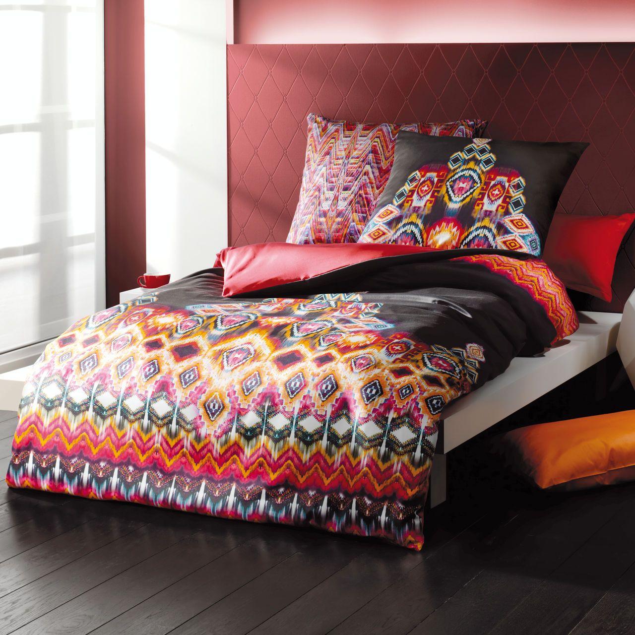 wende bettw sche aus kuschelweichem mako satin sch ner schlafen pinterest bettw sche bett. Black Bedroom Furniture Sets. Home Design Ideas