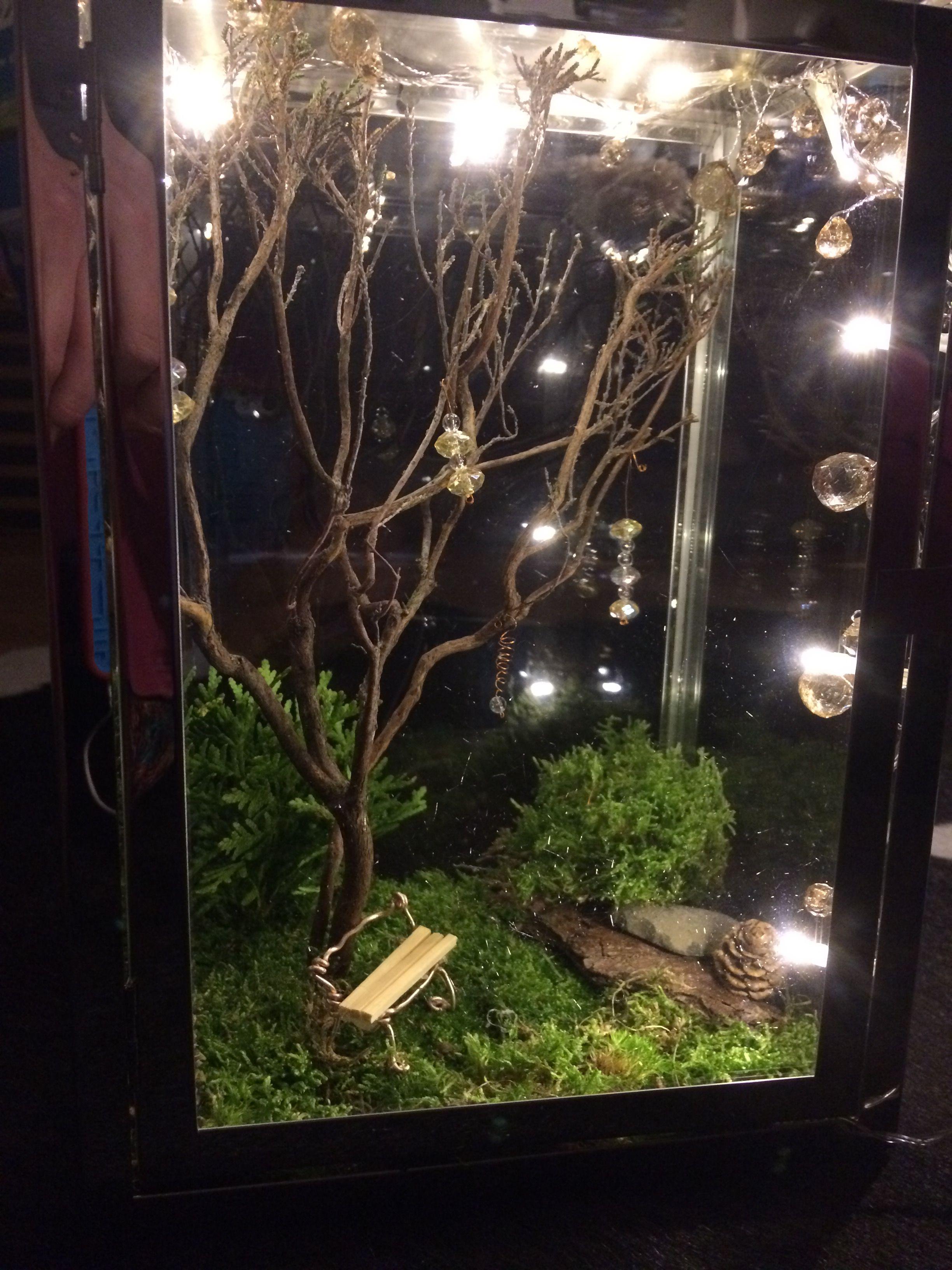 Laterne Diy Feengarten Weihnachten Laternen Indoor Feen Garten