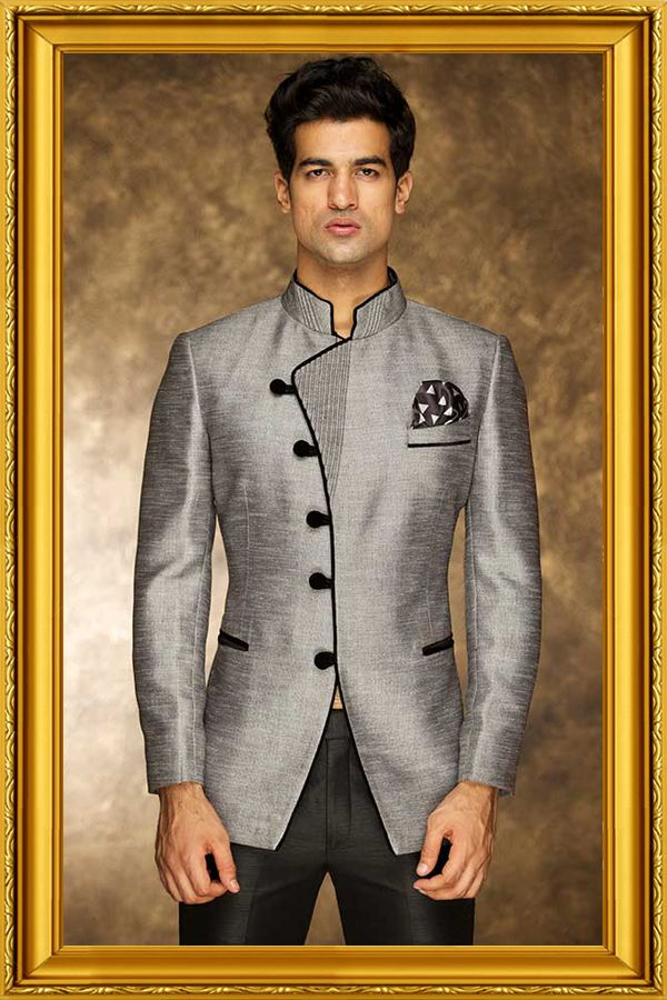 Buy Bandhgala Suits, Men Designer Suit, Bandhgala Waistcoat and ...