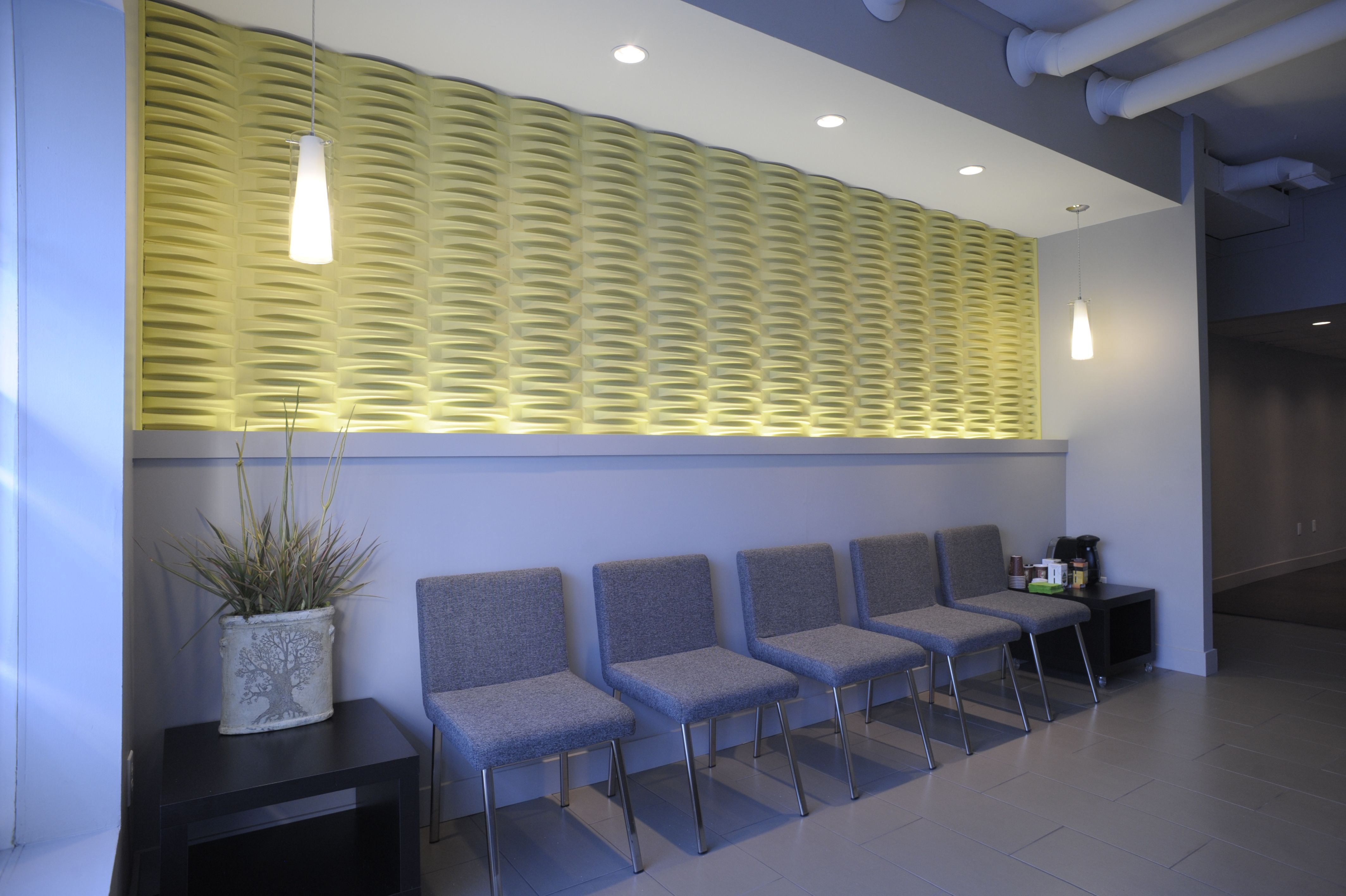 acoustic weave wall tiles  mio in use  pinterest  wall tiles  - room