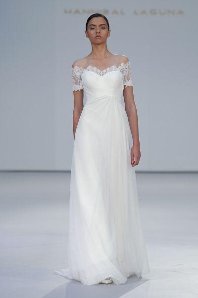 Vestidos de noiva Hannibal Laguna 2017: os modelos tradicionais são tendência Image: 0