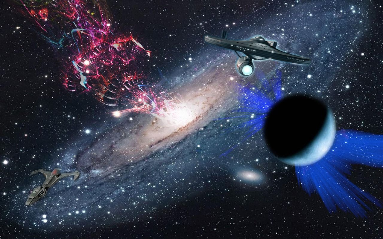 Space Fantasy Wallpapers 1 Star Trek Wallpaper Space Fantasy Star Trek