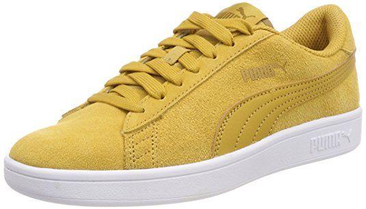 Puma Unisex Erwachsene Smash v2 Sneaker, Gelb (Honey Mustard