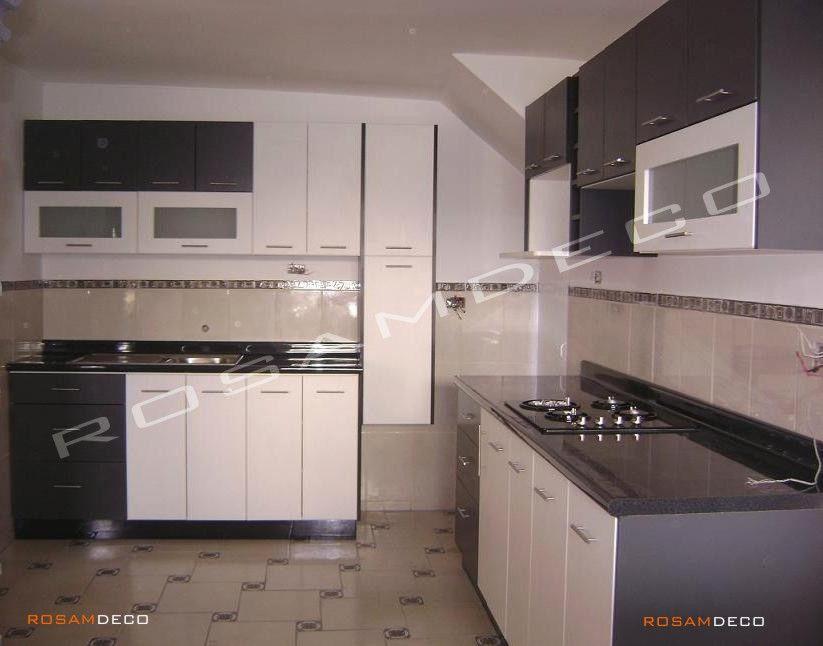Diseños de muebles de cocinas de melamina modernos-6 | Cocinas ...