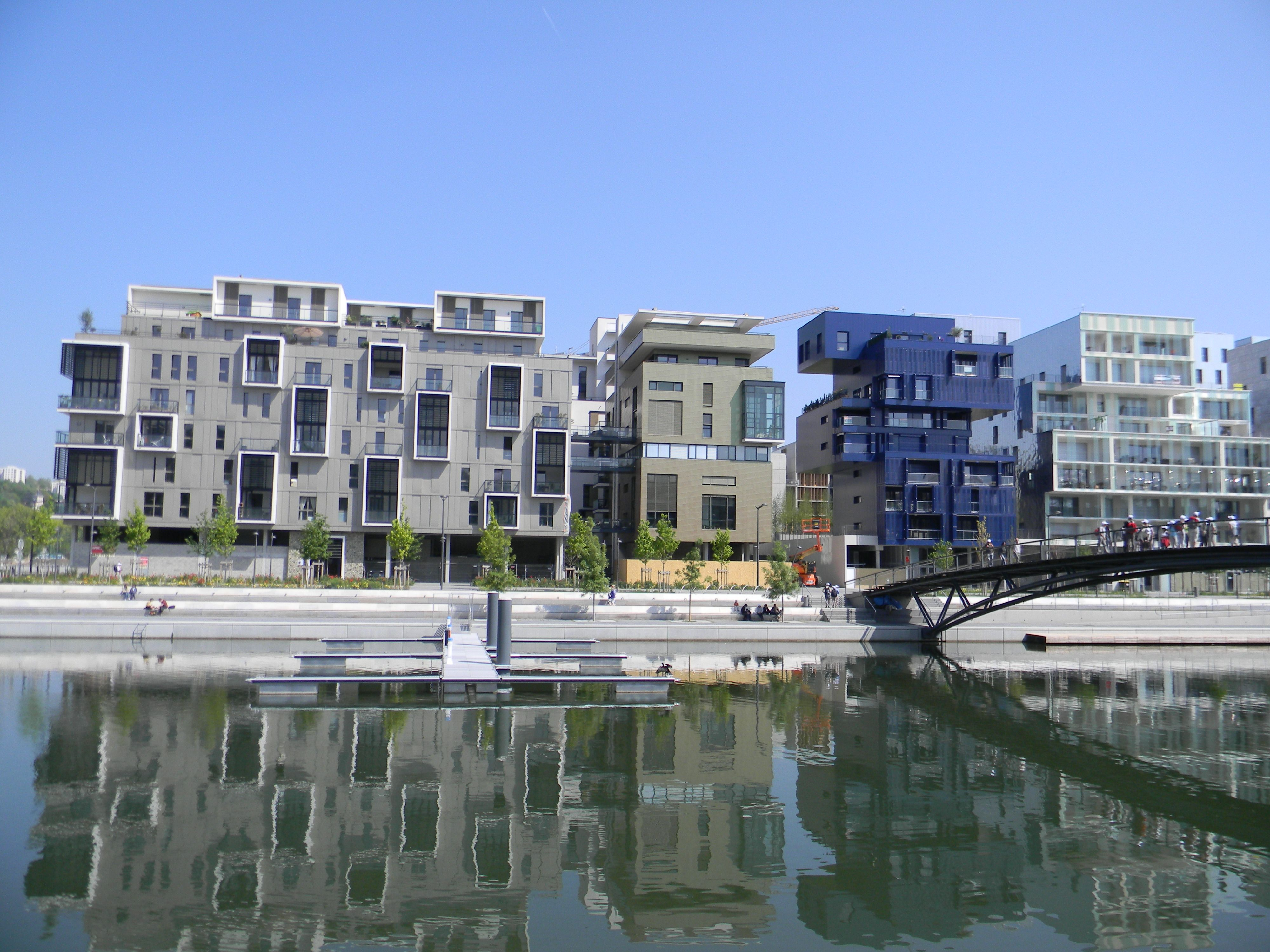 Atelier D Architecture Hervé Vincent immeubles résidentiels de confluence à lyon | patrimoine