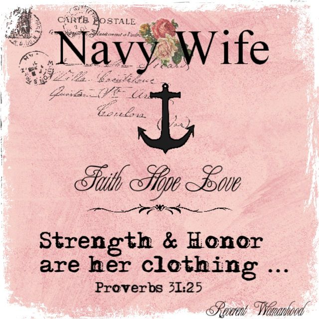Navy Wife I Love my Sailor! | Fair Winds and Following Seas