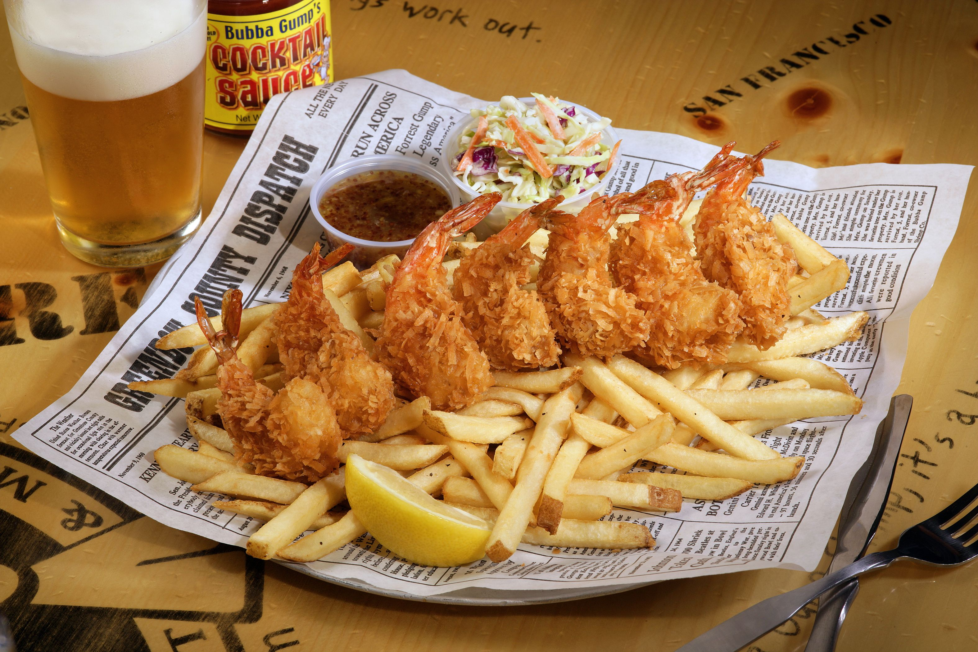 Dumb Luck Coconut Shrimp Bubba Gump Shrimp Co Restaurants  # Muebles Ros Bubua