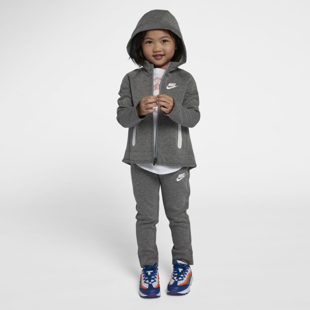 0a920b3a2 Nike Sportswear Tech Fleece Infant/Toddler 2-Piece Set Size 4T (Carbon  Heather)