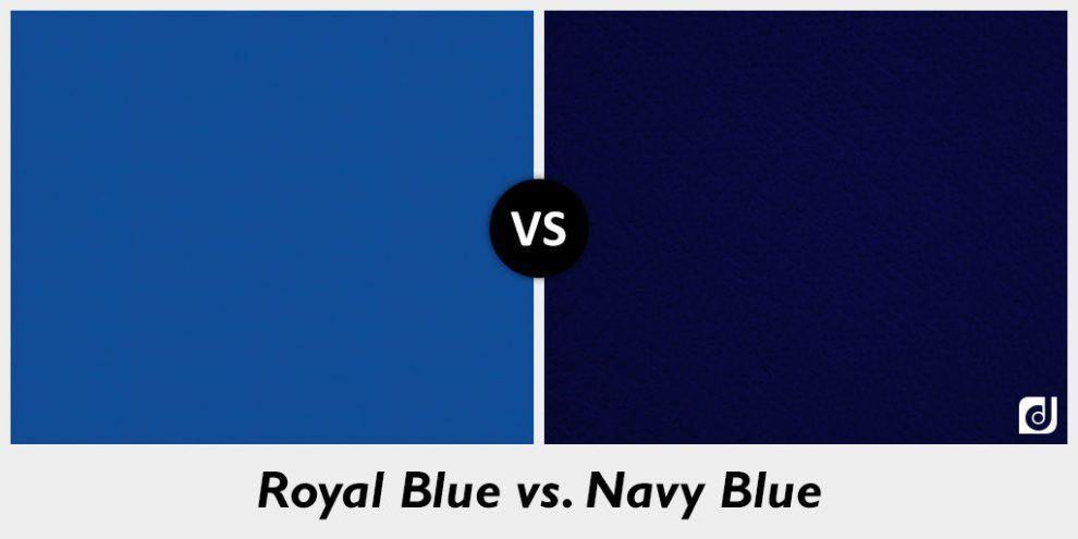 Image result for royal blue vs navy blue | Royal blue ...
