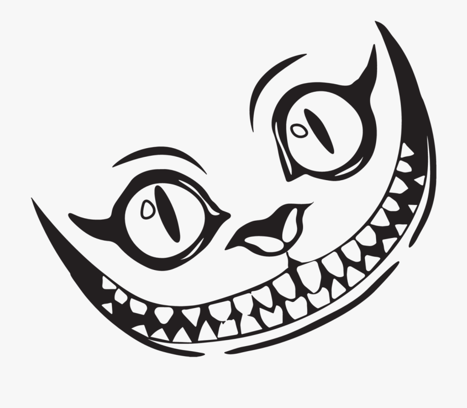 Google Image Result For Https Www Jing Fm Clipimg Detail 96 960756 Temporary Cheshire Cat Grin Sti Cheshire Cat Tattoo Cheshire Cat Drawing Cheshire Cat Grin