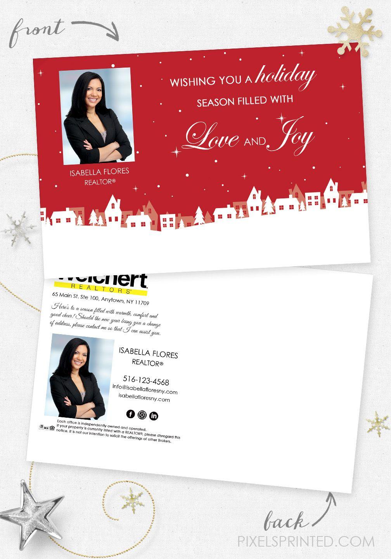 Weichert real estate holiday postcards, Weichert real estate ...