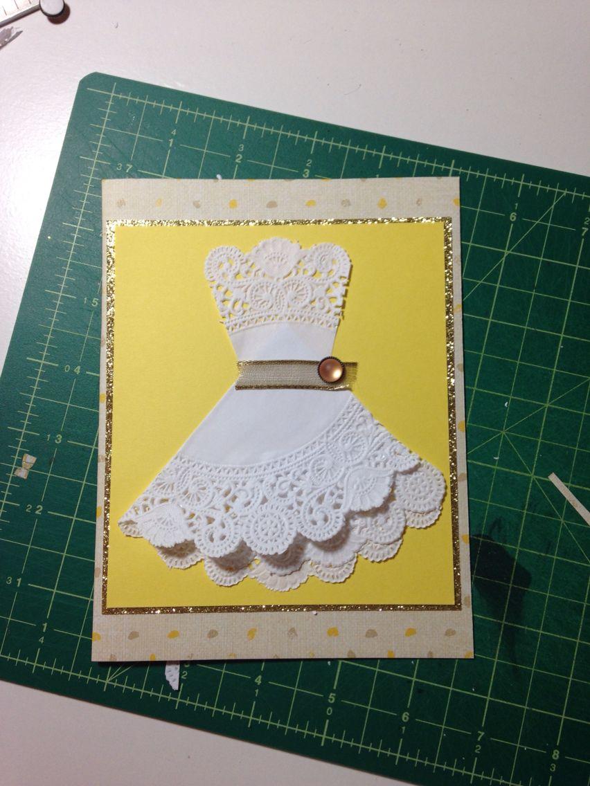 Custom bridal shower card bridetobe card wedding shower card