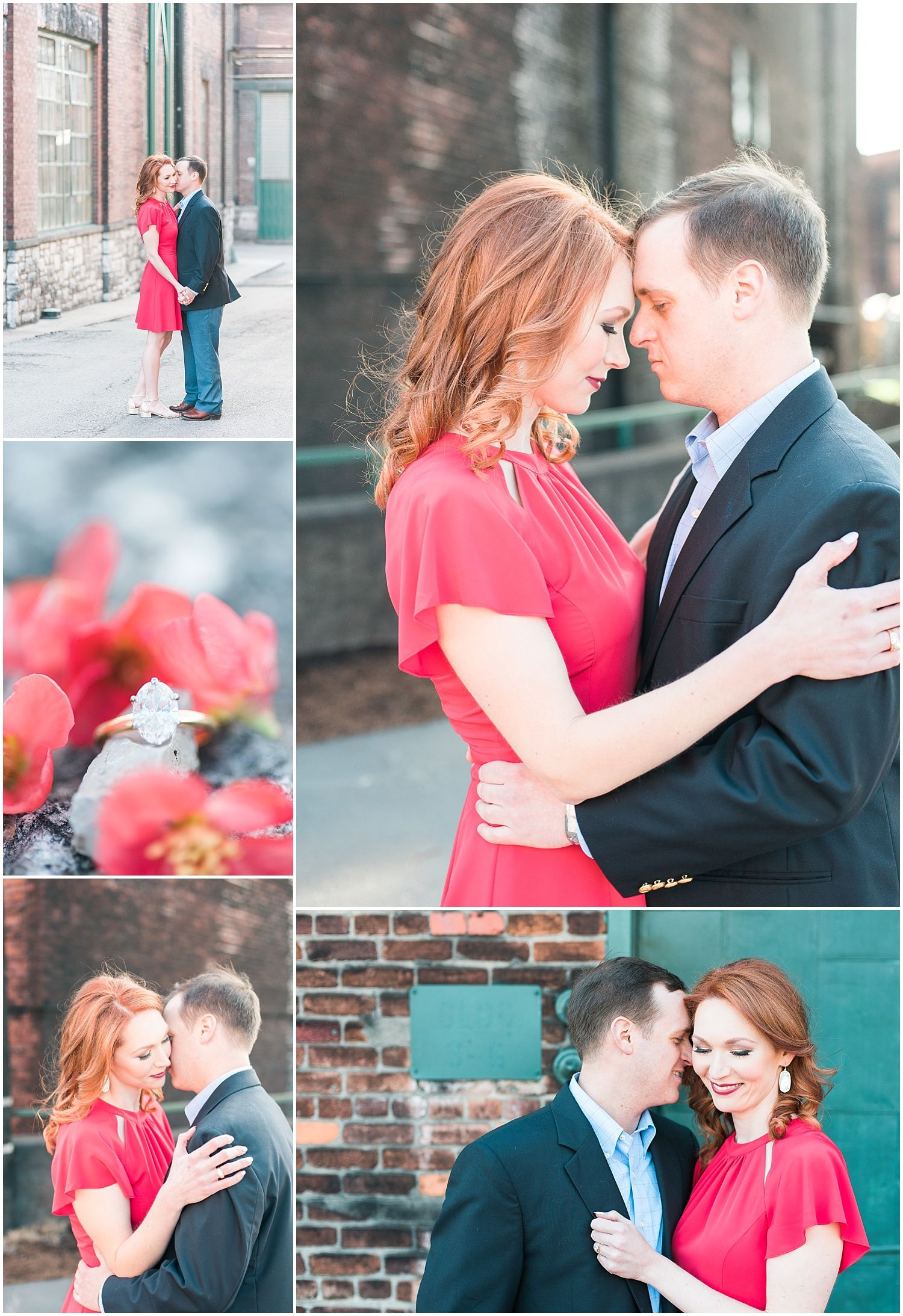 Industrial spring engagement session at Buffalo Trace Distillery in ...