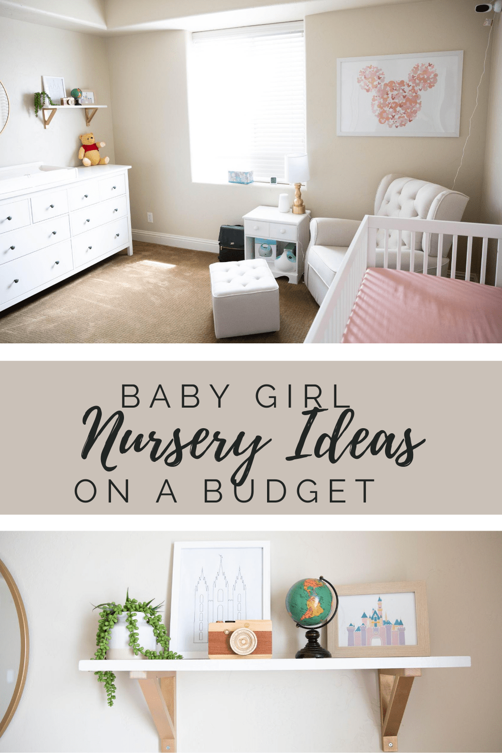 Decorate your nursery on a budget. Easy and simple ways to