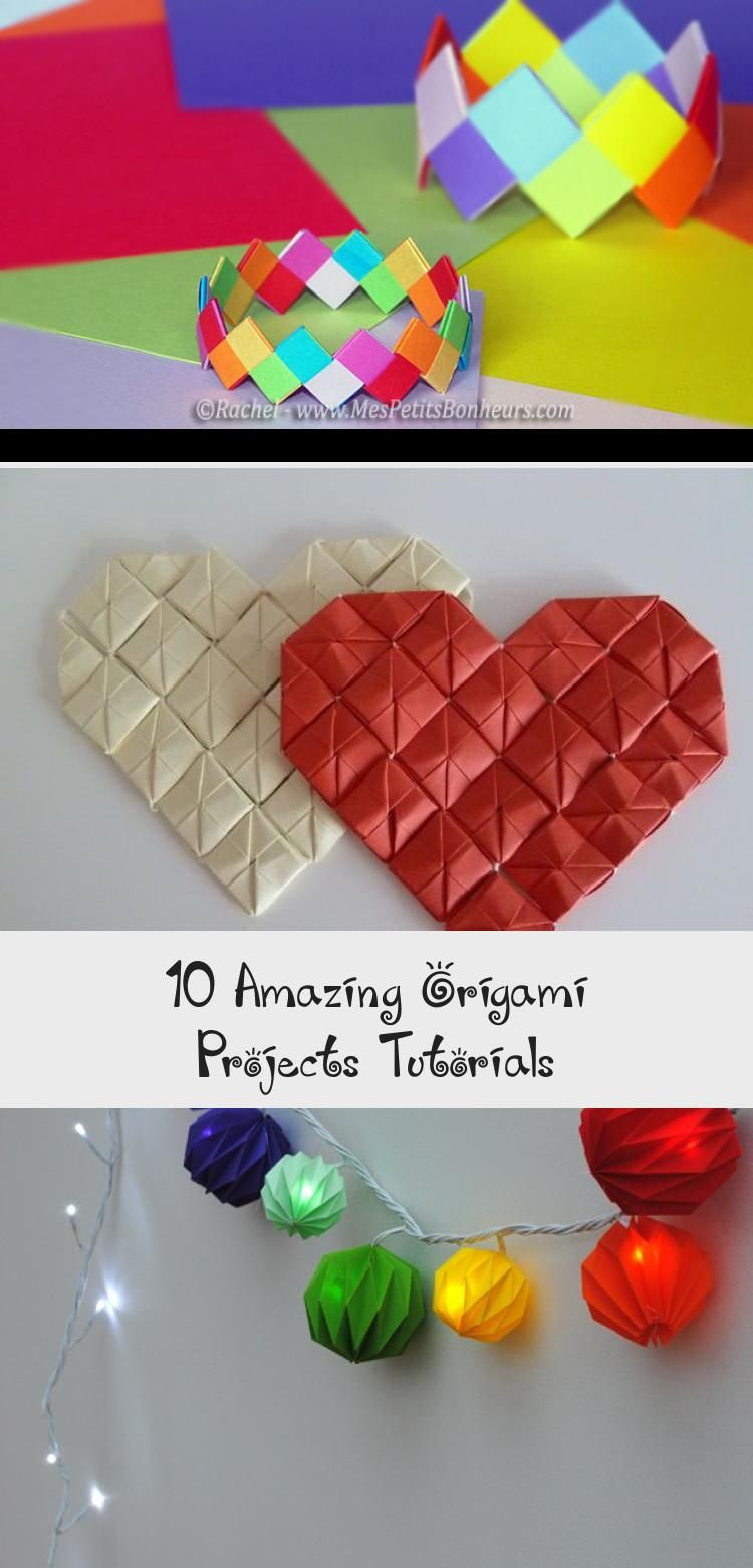Photo of 10 Amazing Origami Projects Tutorials – #origamiArt #origamiSwan #origamiCrane #…