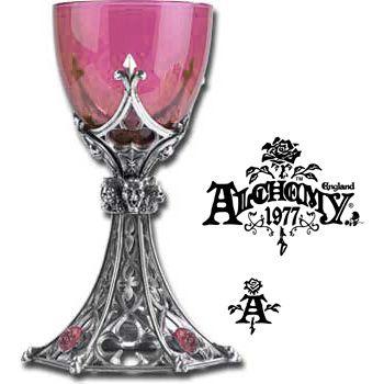 Alchemy Gothic Seventh Son Glass Pewter Wine Goblet Ebay