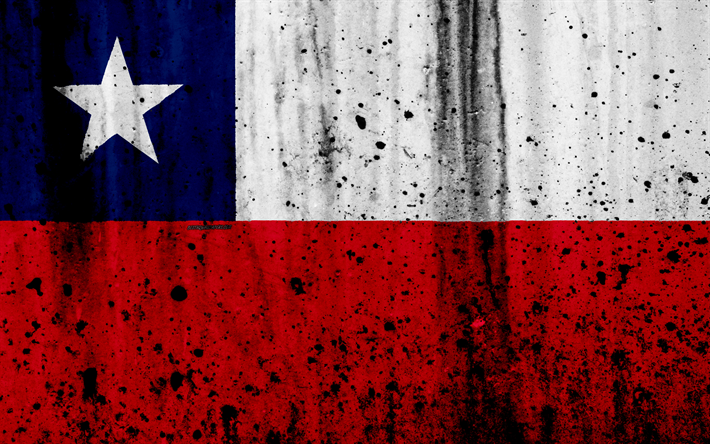 Download Wallpapers Chilean Flag 4k Grunge Flag Of Chile South America Chile National Symbols Chilean National Flag Besthqwallpapers Com Chile Flag Chilean Flag Chile