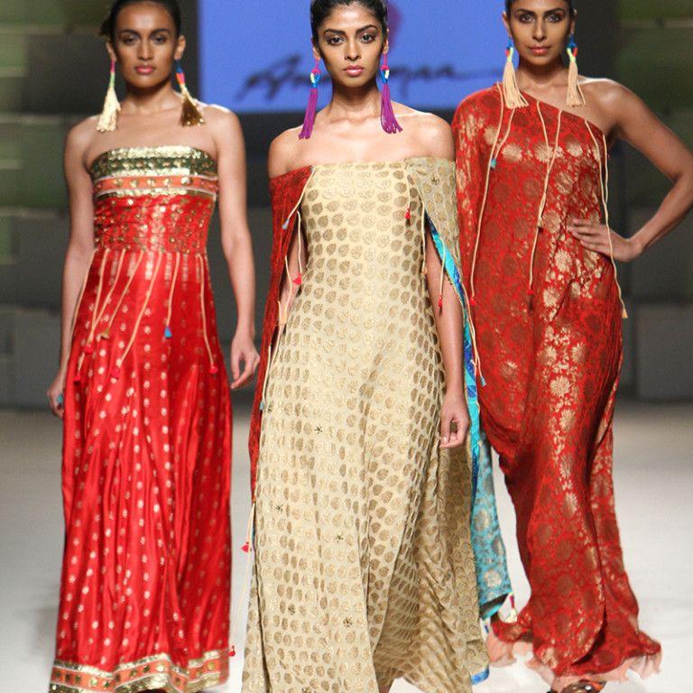 Anupamaa by Anupama Dayal for Grand Finale: Amazon India Fashion Week Spring/Summer 2016