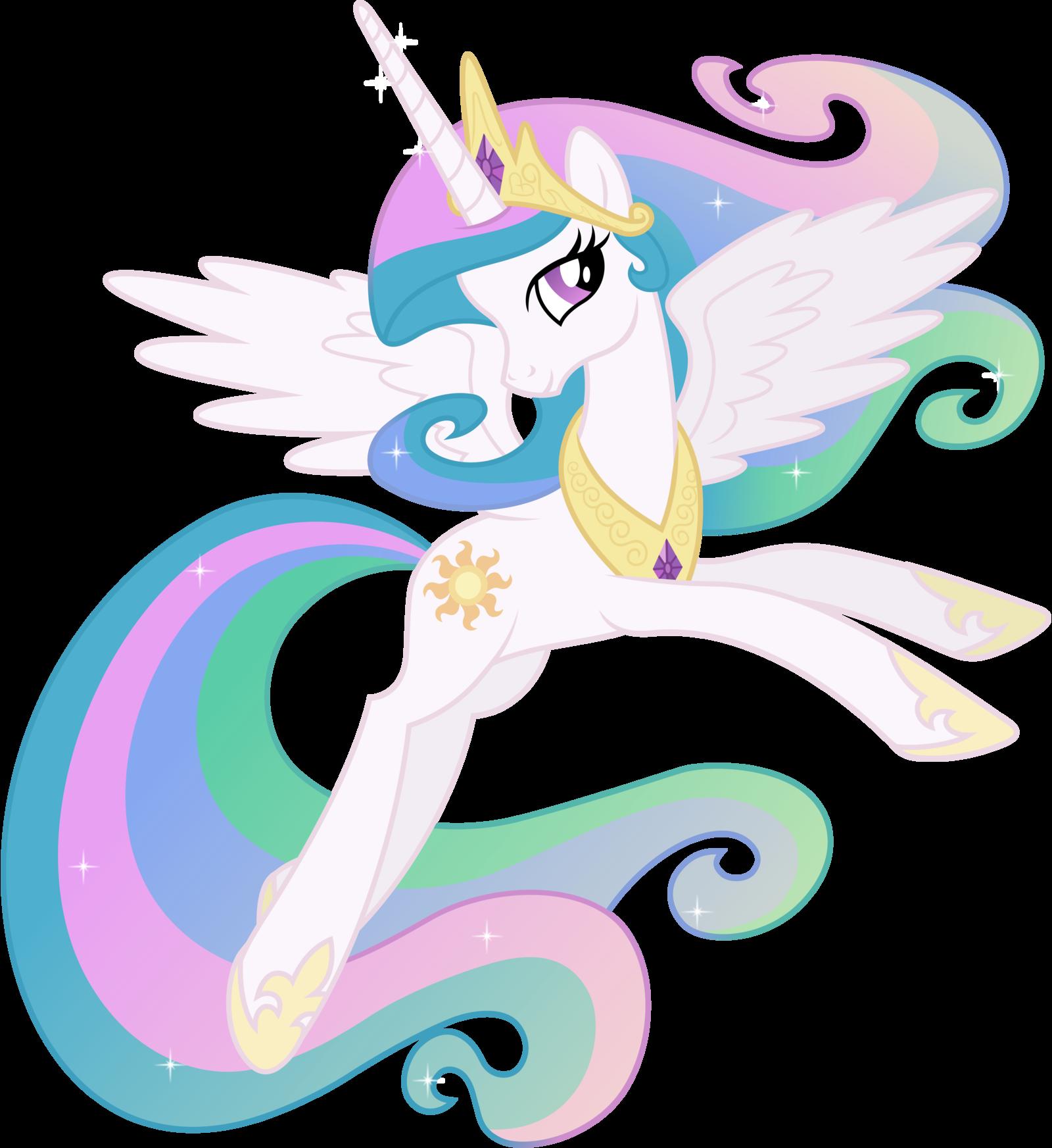 Princess celestia posing by on deviantart my little pony princess - Princesse poney ...