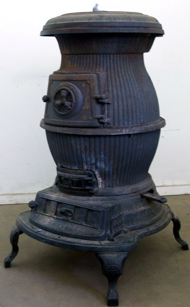 Old Pot Belly Wood Stoves