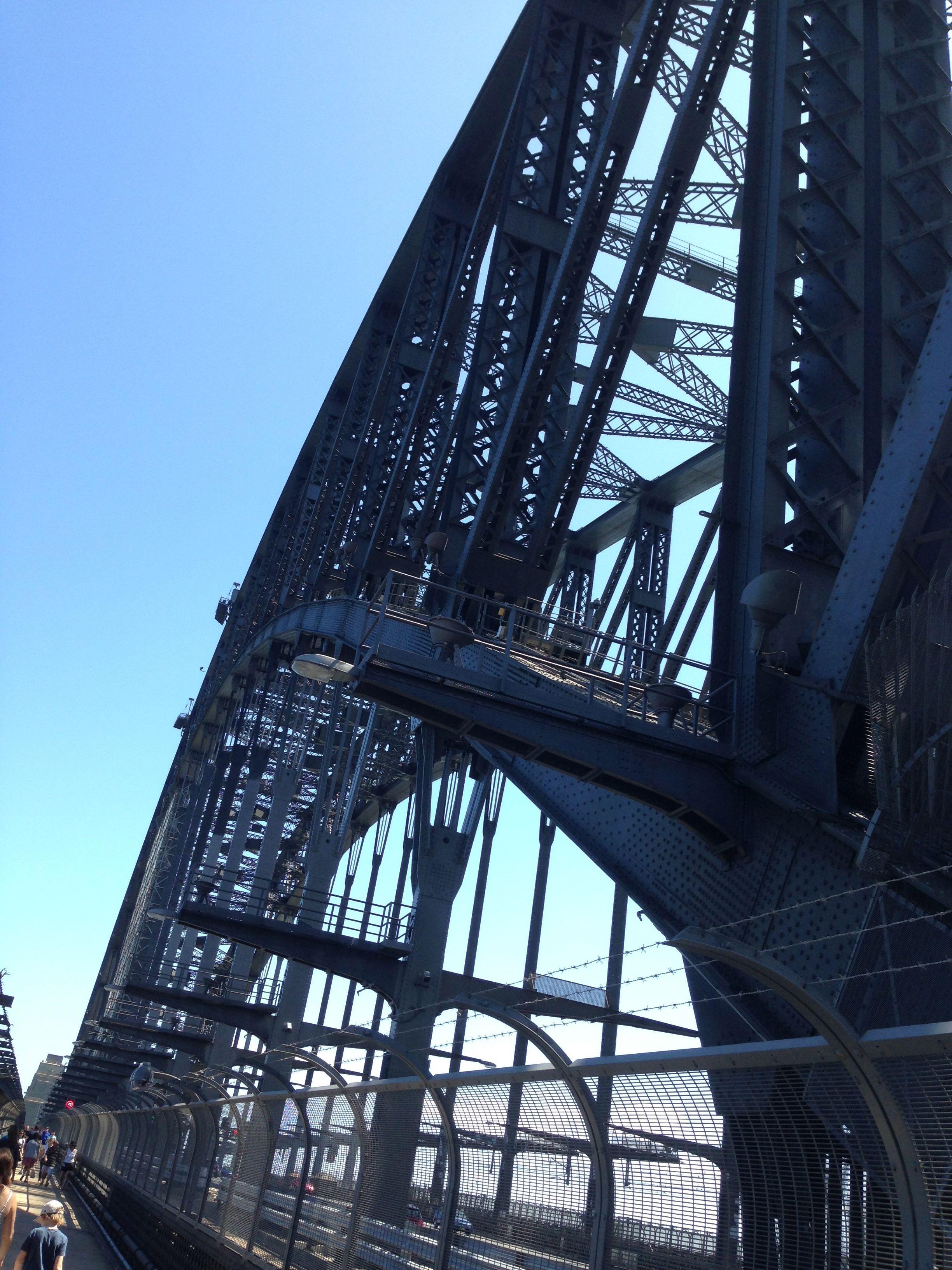 Du får verdens smukkeste udsigt, en by kan tilbyde, ved at krydse Harbour Bridge.