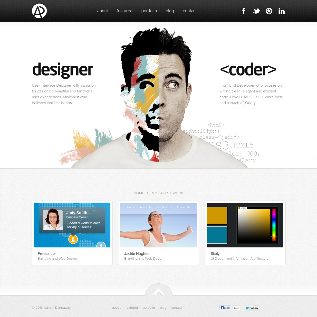 129 Free Simple Website Templates Based On Html Css 2020 Colorlib Personal Website Templates Freelancer Website Free Website Templates