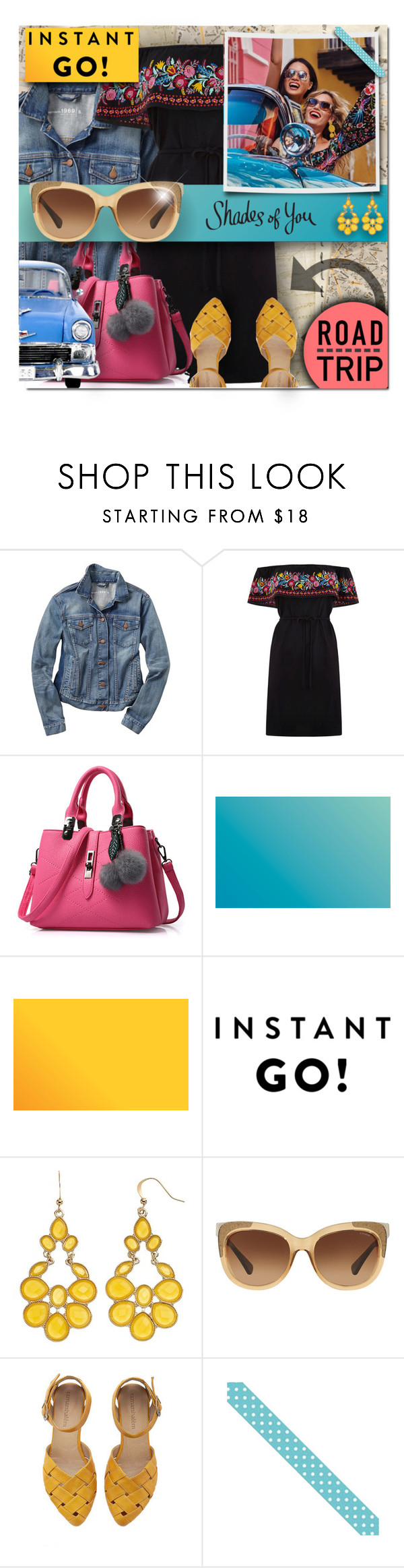 """Shades of You: Sunglass Hut Contest Entry"" by polly301 ❤ liked on Polyvore featuring Gap, Oasis, Coach, roadtrip, sunglasshut and shadesofyou"
