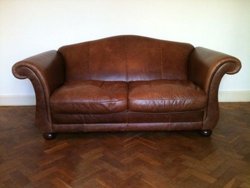 Miraculous Laura Ashley Penhurst Vintage Leather Sofa Ebay Ibusinesslaw Wood Chair Design Ideas Ibusinesslaworg