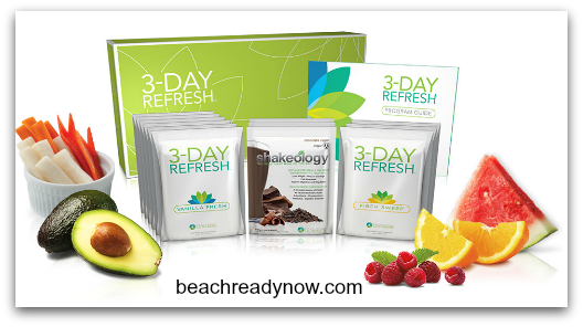 3 Day Refresh Before and After #BeachReadyNow