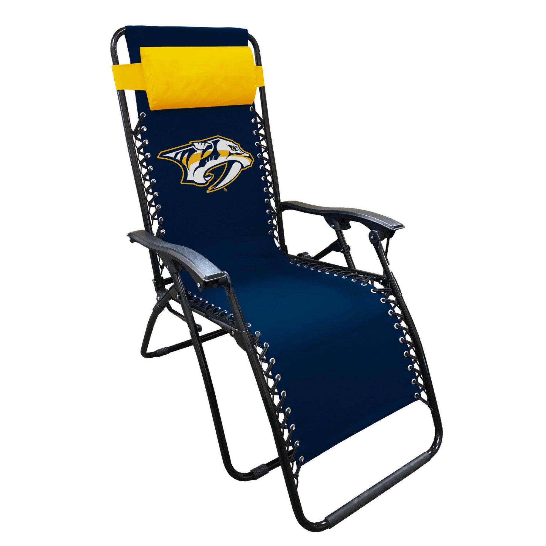 Amazing Outdoor Logo Brands Nhl Team Zero Gravity Lounger Alphanode Cool Chair Designs And Ideas Alphanodeonline